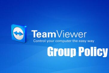 TeamViewer distribuzione tramite GPO