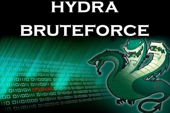 Bruteforce con Hydra (KaliLinux)