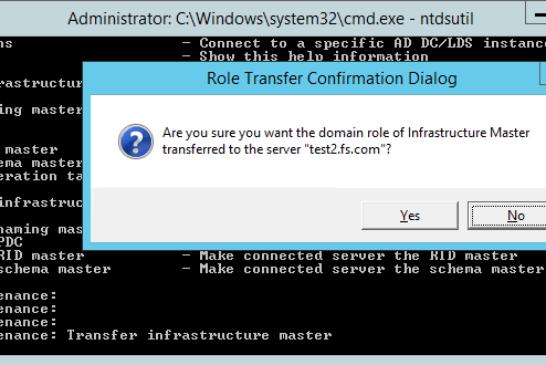 Migrazione ruoli Active Directory