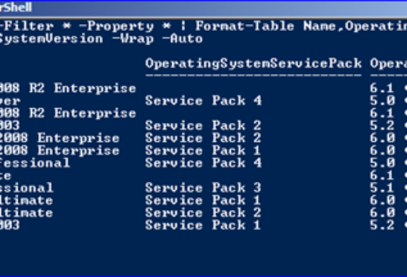 Inventario PC da Active Directory e Powershell