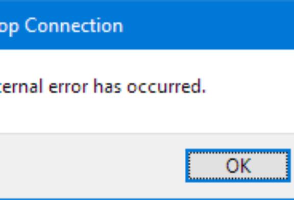 Internal error – Impossibile creare un nuovo certificato autofirmato per Desktop remoto Event id: 1057